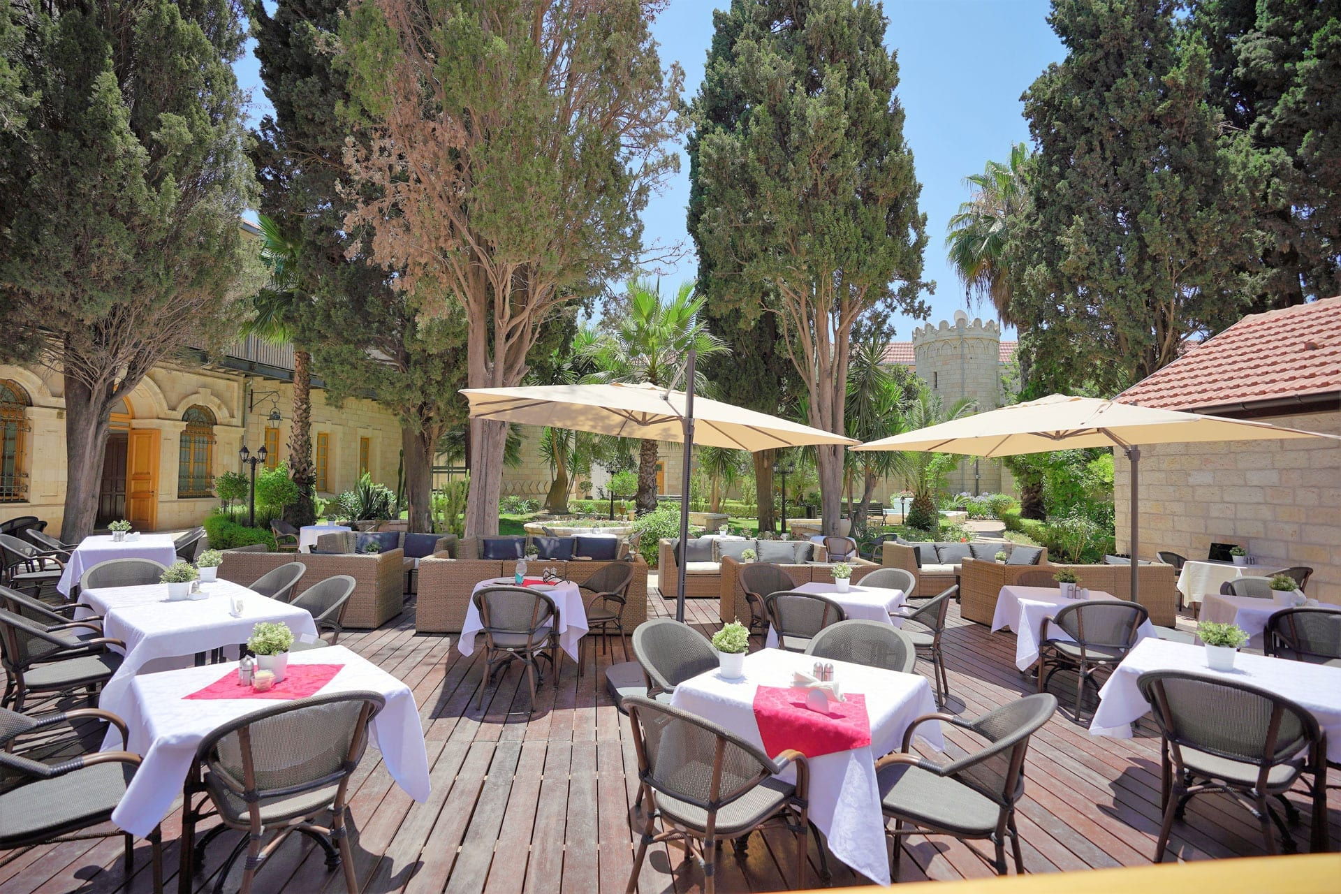 Sergei Palace Restaurant in Jerusalem